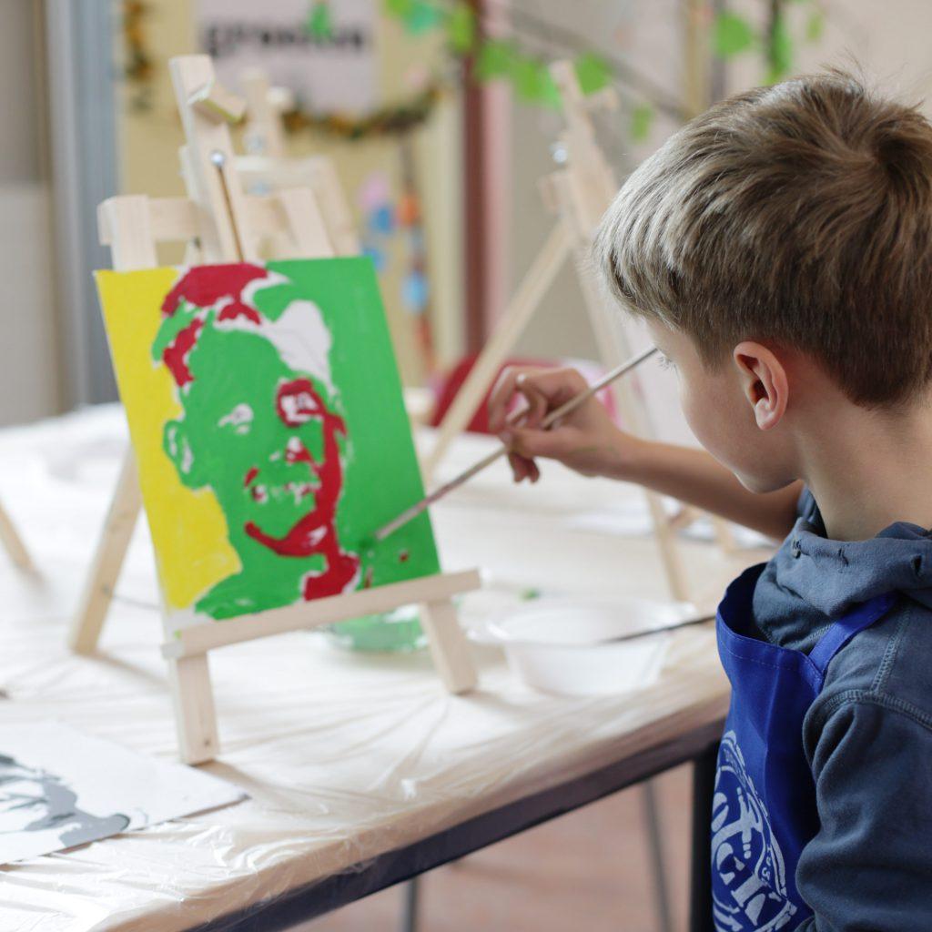 creatieve workshop voor kids